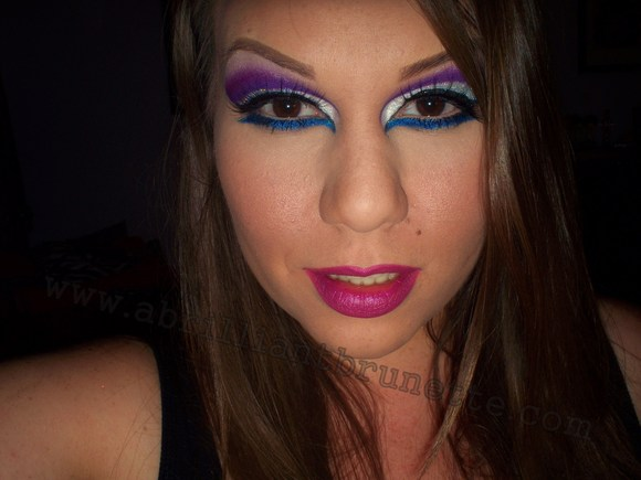 Dramatic Makeup Tutorial. Makeup dark dramatic or