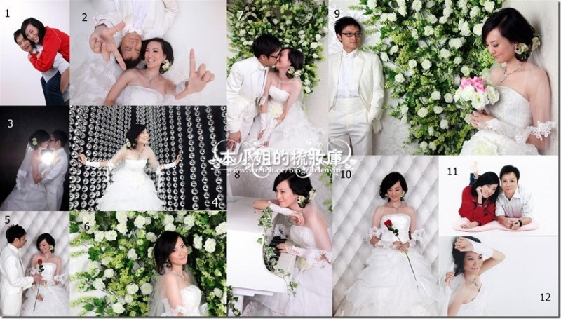 拍婚照的二三事(2)--香港的室內婚攝公司